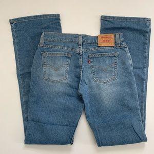 Levi's 518 Superlow Stretch Bootcut Jeans size 7 M